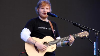 Ed Sheeran inspired by Bruno Mars