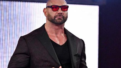 Dave Bautista wears shades to deal with anxiety