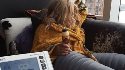 Wendy Williams uses compression machine every day