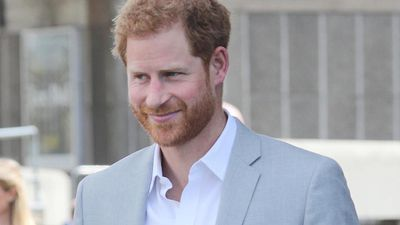Prince Harry defends taking private jets