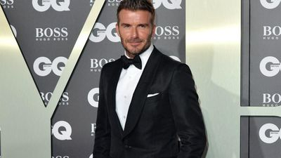 David Beckham admired David Bowie
