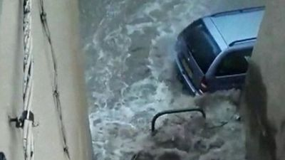 Heavy floods hit southern France