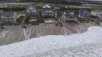 Hurricane Florence approaches US shores