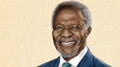 Kofi Annan: Timeline of former UN chief