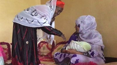 The special ritual for mothers after childbirth