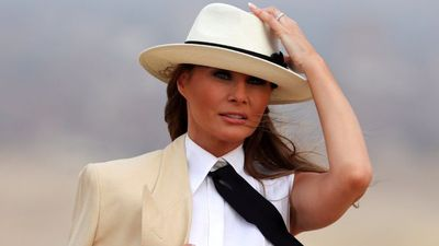 Melania: I don't always agree with Trump