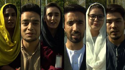 Afghan 'war on terror' generation votes