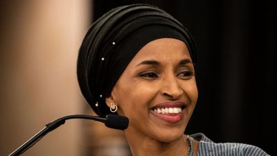 Joy at first hijab-wearing Congresswoman