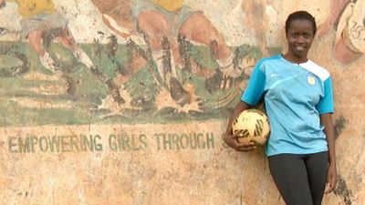 'Without football, I wouldn't have an education'