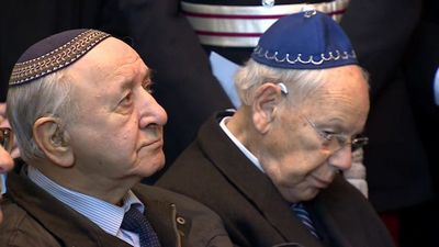 UK funeral held for Holocaust victims