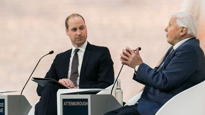 Prince William interviews Sir David Attenborough