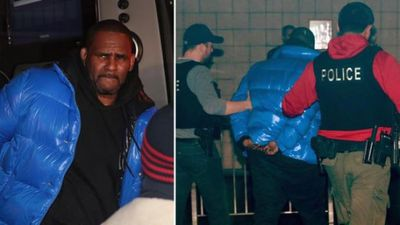 R Kelly hands himself in to police