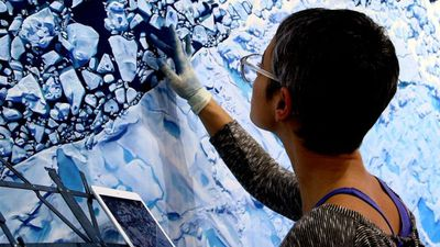 Putting climate change on canvas