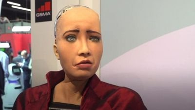 Meet the robot with 50 facial expressions