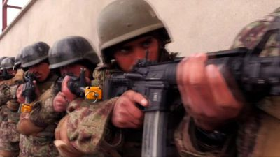 On patrol with Afghan Special Forces