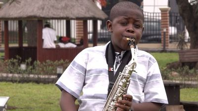 'The saxophone is life to me'