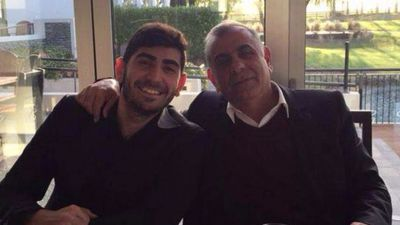 'My father took a bullet for me'