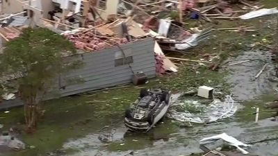 Texas tornado: 'It looked like a bomb had gone off'