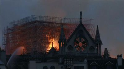Notre-Dame structure 'saved' after blaze
