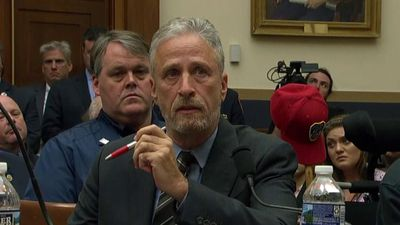 Jon Stewart rebukes Congress over 9/11 fund