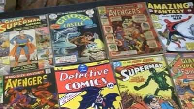 Man sells comic collection worth GBP350k