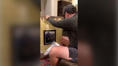 Stepfather brought to tears with Father's Day gift