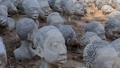 'You see the faces of our ancestors'