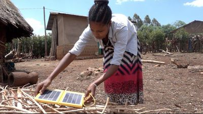 Stopping child marriage with solar lanterns