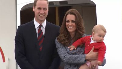 William, Kate And George - A New Royal Family