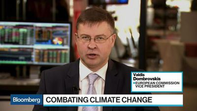 Bloomberg Surveillance - EU's Dombrovskis on Climate Change, MiFID II, Basel