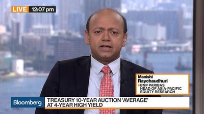 Bloomberg Markets: Middle East - Treasury 10-Year Auction 'Average' at 4-Year High Yield