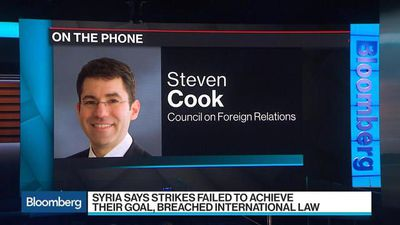 Bloomberg Surveillance - CFR's Steven Cook Says Iran Has Opportunity and Motive to React to U.S. Strikes in Syria