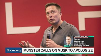 Bloomberg Technology - Why Tesla Bull Gene Munster Wants Elon Musk to Apologize