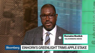 Bloomberg Technology - Einhorn's Greenlight Trims Apple Stake