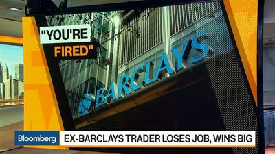 Bloomberg Markets - Former Barclays Trader Wins $190,000 Job at Bank That Fired Him