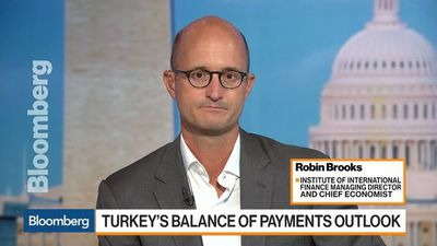 Credit Boom Unwind Is at Center of Turkish Crisis, IIF's Brooks Says