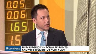 Bloomberg Markets: Asia - Yuan Hedging Costs Are Low, Says JPMorgan's Pang