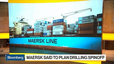 Bloomberg Daybreak: Europe - Maersk Said to Plan Drilling Spinoff