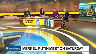 Bloomberg Daybreak: Europe - Merkel to Meet With Putin on Saturday