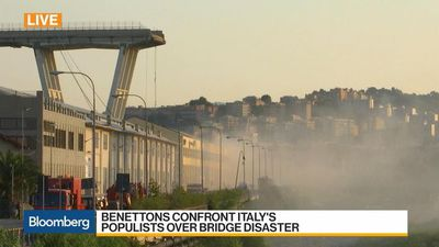 Bloomberg Daybreak: Europe - Benettons Confront Italy's Populists Over Bridge Disaster