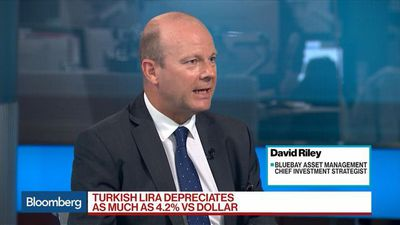 Bloomberg Surveillance - Turkish Lira Has Effectively Become Untradeable, Bluebay's Riley Says