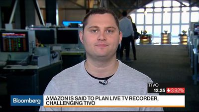 Bloomberg Markets - Amazon Said to Challenge Tivo With Live TV Recorder