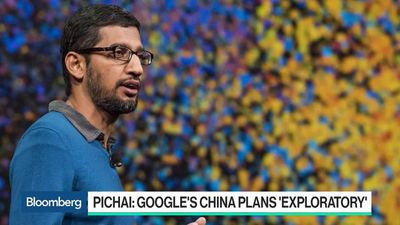 Bloomberg Technology - Google CEO Said to Tell Staff China Plans Are Exploratory