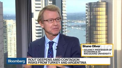Bloomberg Daybreak: Australia - Dollar Has More Upward Pressure, AMP Capital's Oliver Says
