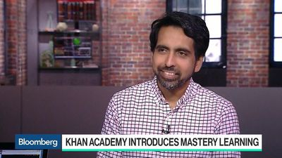 Bloomberg Technology - Khan Academy Aims to Be Educational Institution of the Future, Founder Says
