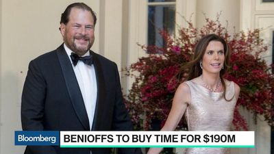 Bloomberg Technology - Why the Benioffs Are Buying Time Magazine