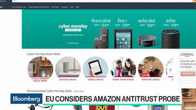 Bloomberg Technology - Why the EU May Be Considering an Antitrust Probe of Amazon