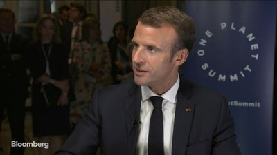 France's Macron on Climate Change, EU Challenges and Reforms
