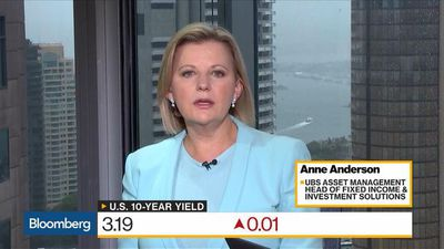 Bloomberg Daybreak: Australia - Not Expecting Significant Increase in U.S. Yields, UBS Asset's Anderson Says