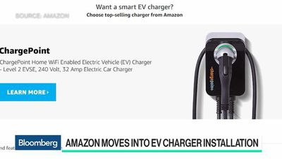 Bloomberg Technology - Amazon Teams Up With Audi to Move Into EV Charging